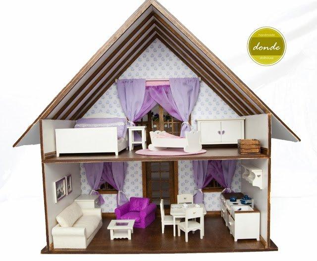Fantastyczny Domek dla lalek PI86